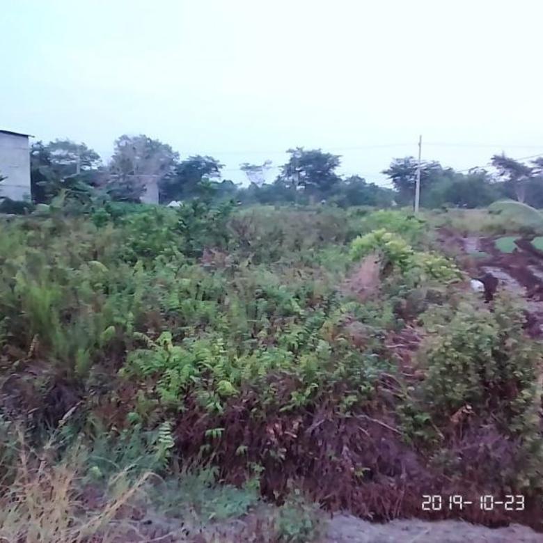 Tanah Luas Depan Jalan Utama