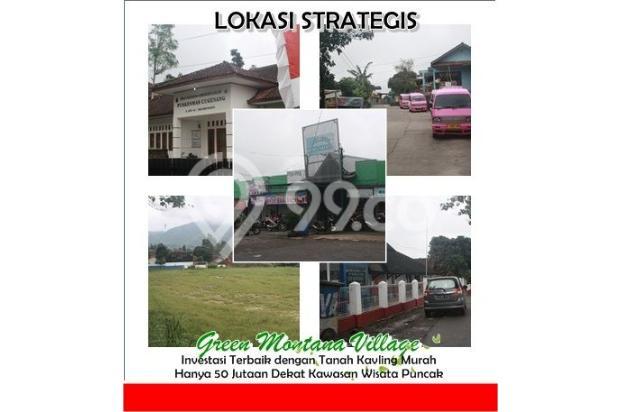 Investasi Cerdas Tanah Kavling Murah Hanya 60 Jutaan/Kav di Puncak - shm 16224389