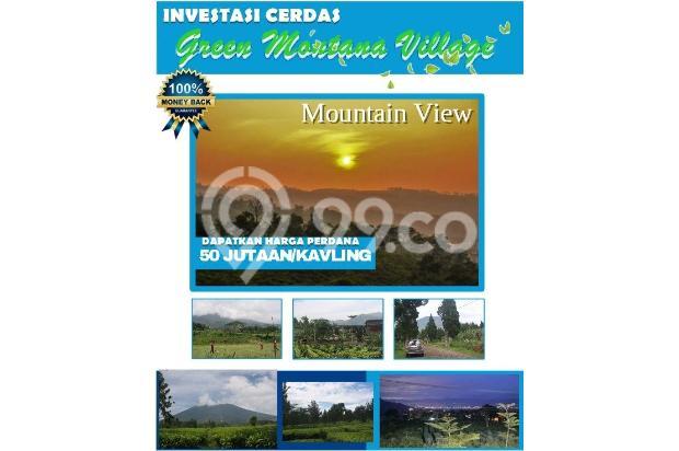 Investasi Cerdas Tanah Kavling Murah Hanya 60 Jutaan/Kav di Puncak - shm 16224393