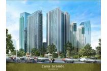 Apart. Casa Grande 2+1 BR Tower Bela Lantai 20 Semi Furnished MP4882VY