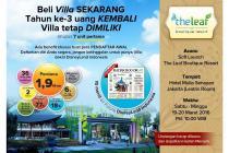 Villa Dijual Di Puncak Bogor, The LEAF Boutique Resort @ Ciawi