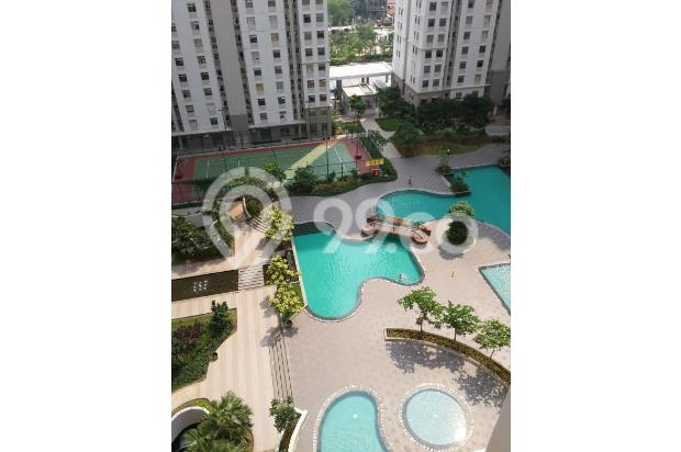 DIJUAL apartmen greenbay 2br furnished simple, view pool, connecting to mal 16224558
