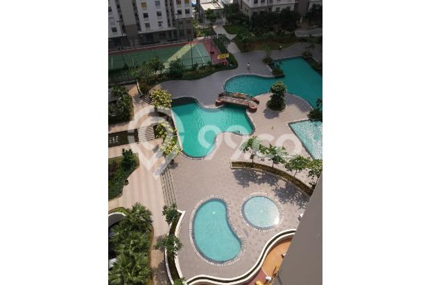 DIJUAL apartmen greenbay 2br furnished simple, view pool, connecting to mal 16224567