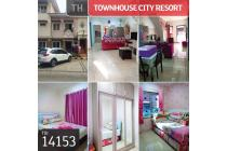 Townhouse City Resort, Jakarta Barat, 6x10m, 1 Lt, HGB