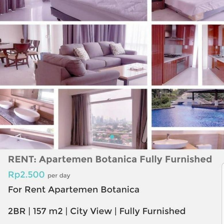 Apartemen Botanica Simprug Jakarta Selatan, 2BR 157m2