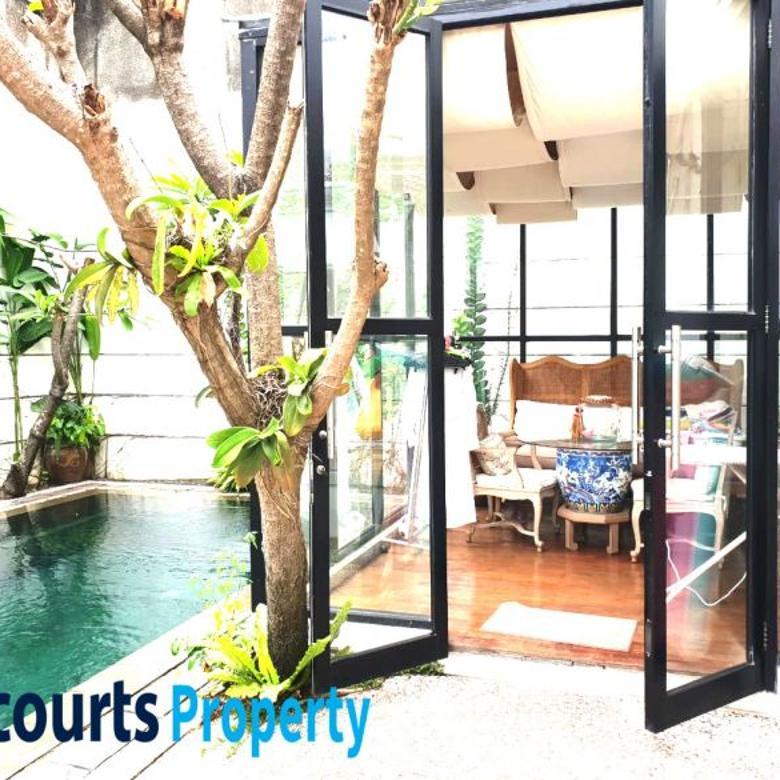 Dijual Rumah Mewah Lingkungan Elite @Senopati, Kebayoran Baru