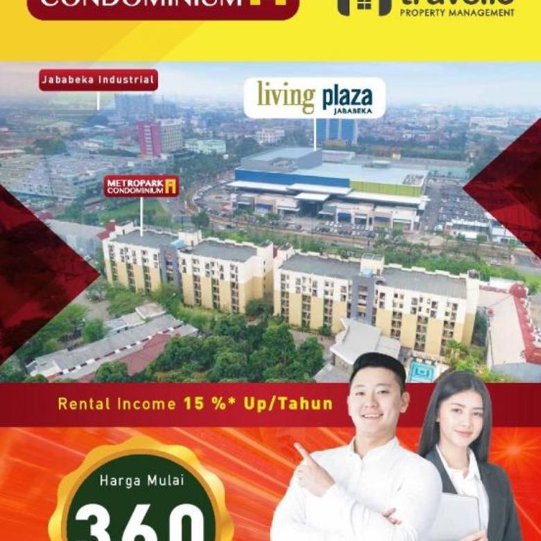 Lokasi Premium Metropark Condominium Jababeka Bonus Furnished