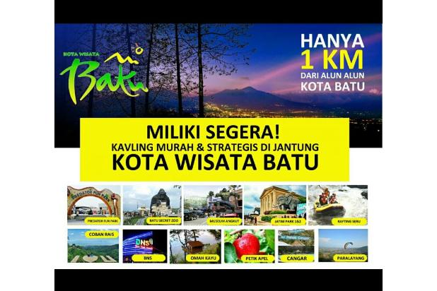 Tanah Kavling Murah di Pusat Kota Batu Malang Surabaya 18274951