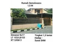Rumah semolowaru surabaya murah SHM nego