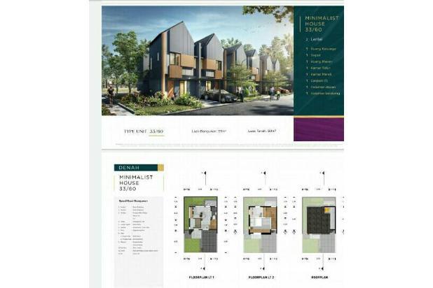 Rp867jt Rumah Dijual