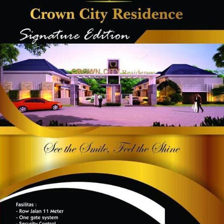 rumah crown city residence menganti minimalis baru