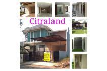 Disewakan Rumah Mewah minimalis, Bagus di Citraland - Surabaya Barat