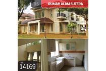 Rumah Alam Sutera, Cluster Aruna, Tangerang, 18x21m, 2 Lt, HGB