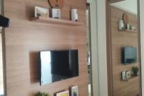 Dijual / Dipasarkan  apartemen green pramuka city compact furnished