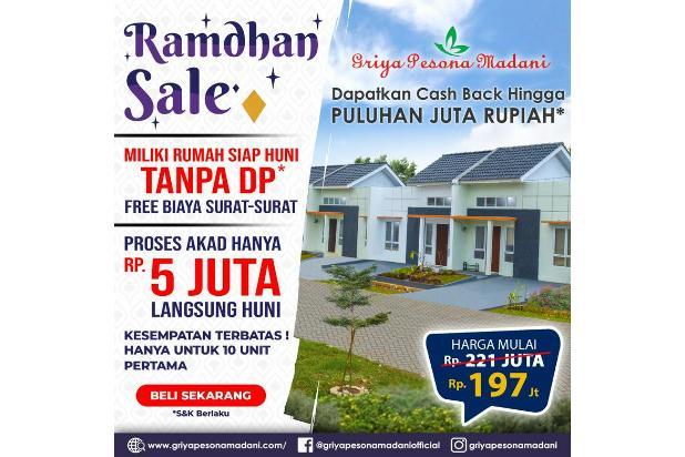 Rp197jt Rumah Dijual