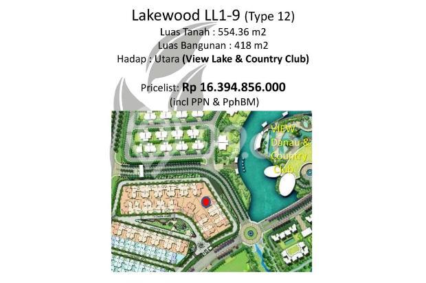 Rumah Mewah Lakewood Type 12 View Danau dan Sport Club 2,5 Hektar 16509861