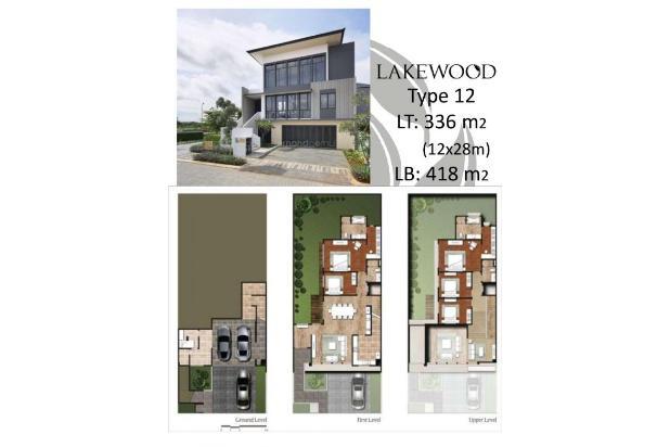 Rumah Mewah Lakewood Type 12 View Danau dan Sport Club 2,5 Hektar 16509876
