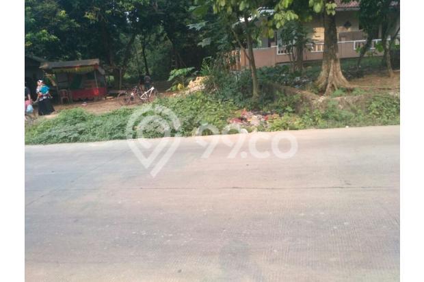 Dijual murah Tanah di Pinggir Jalan Raya Klapanunggal 12299217