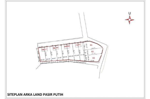 Jual Kapling 90-an M2 di Perumahan, Sertifikat Hak Milik 16509103