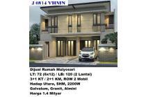 Dijual Rumah Baru Mulyosari Surabaya Timur
