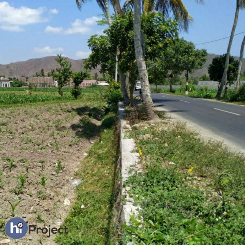 15 are Tanah pinggir jalan di Kediri Lombok barat T345