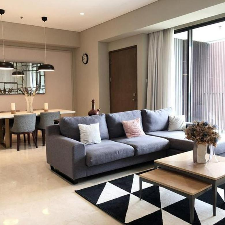 Apartemen 1 Park Avenue 2 Bedroom Tower King Lantai Rendah