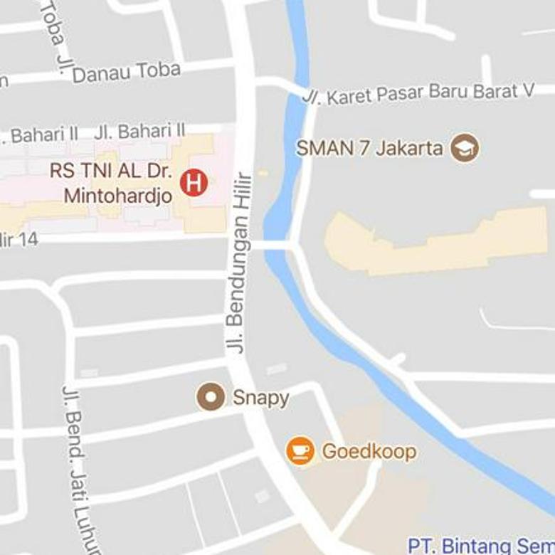 Tanah Jalan Bendungan Hilir Raya Jakarta Pusat Cocok untuk Apartemen Or Perkantoran