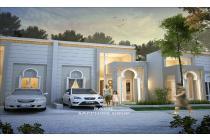 Rumah dijual Sapphire Mansion Bundaran Air Mancur ke Selatan