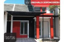 Rumah Serpong Garden Cluster Green Valley, Tangerang, 6x12m, 1 Lt