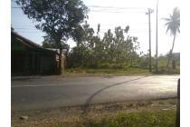 Jual Tanah Pinggir Jalan Raya Banyumas Purwokerto Lokasi Strategis