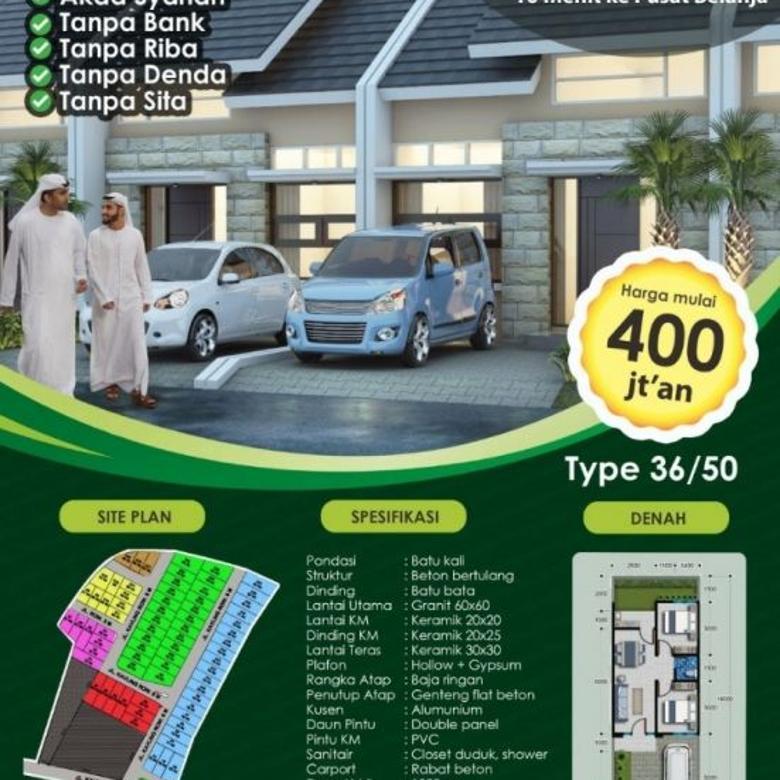 Perumahan Syariah Green Village 10 dekat Plaza Cibubur Jaktim