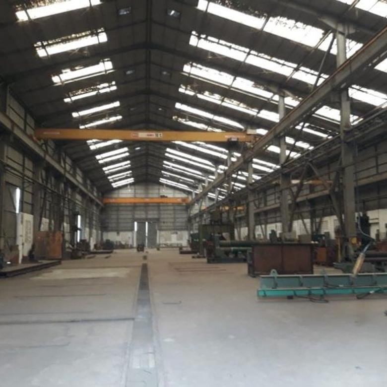 Dijual Workshop Berikut Peralatan di Kawasan Industri Cikande