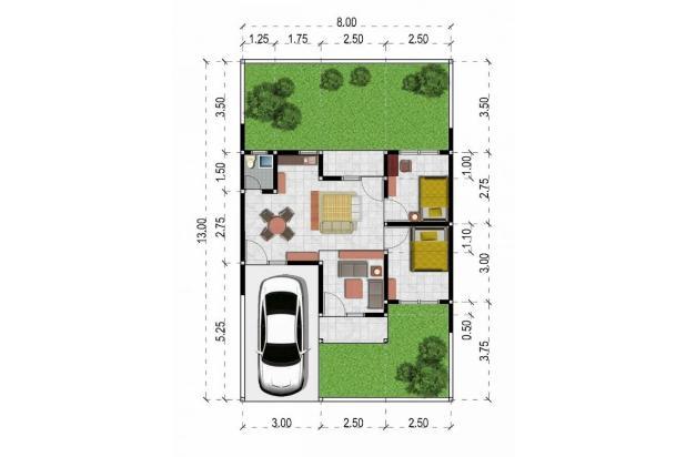 Rp202jt Rumah Dijual