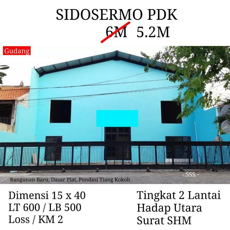 Gudang Sidosermo Pdk Surabaya Bangunan Loss Lantai Plat Besi