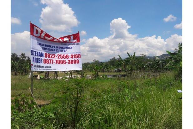 Rp158mily Tanah Dijual