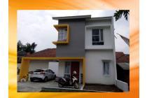 Rumah Baru Murah 2 Lantai Pusat Kota Diskon 25JT di Buahbatu