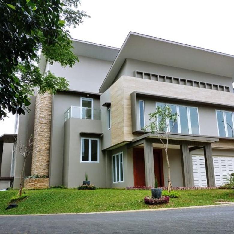 Rumah baru di Delatinos BSD City, bagus, Hoek, siap huni, dekat ke Tol
