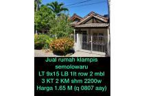 Dijual Rumah Nyaman Asri di Klampis Semolo, Surabaya