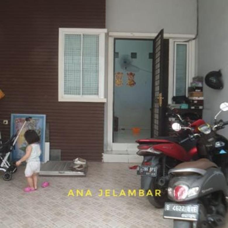 Rumah minimalis uk 4,5x14m hadap selatan di Jelambar
