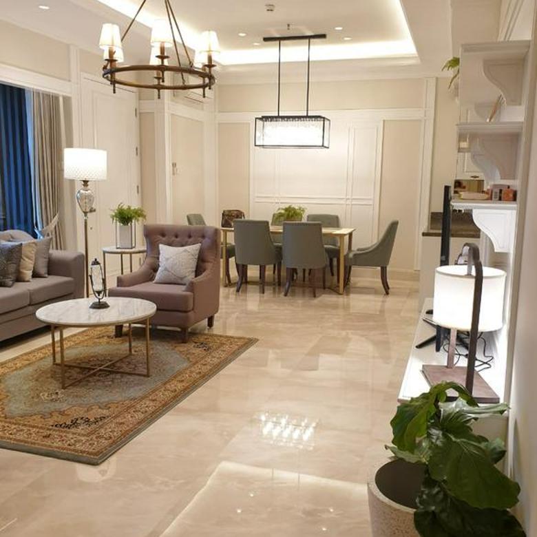 Apartemen 1Park Avenue 2+1BR uk 147m2 New Furnished Siap Huni at Kebayoran Lama Jakarta Selatan