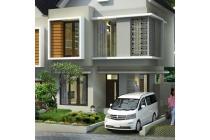 Rumah baru modern minimalis dekat ITB Dago (2 lantai) view Bandung 800Jt