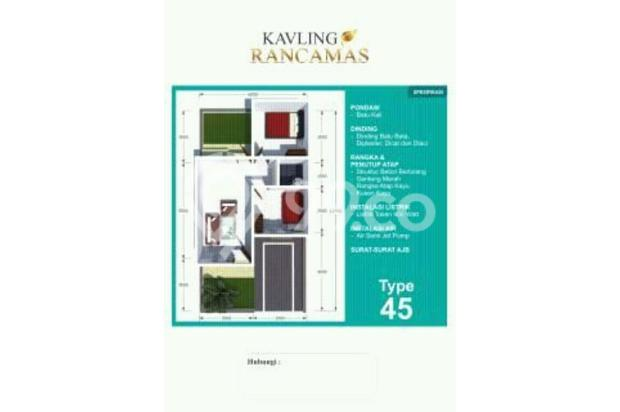 Rumah kavling type 45/70 termurah di kawasan nya 15011386