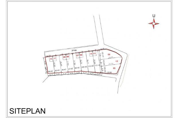 Jalan 5 Meter, Luas 90-an M2, 11 Unit, SHM: Kaveling Depok Kota 13244258