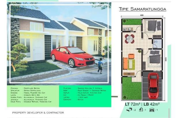 Rp309jt Rumah Dijual