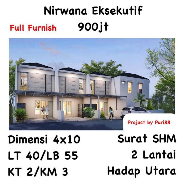 Rumah Nirwana Eksekutif Surabaya Timur OERR MERR Full furnish