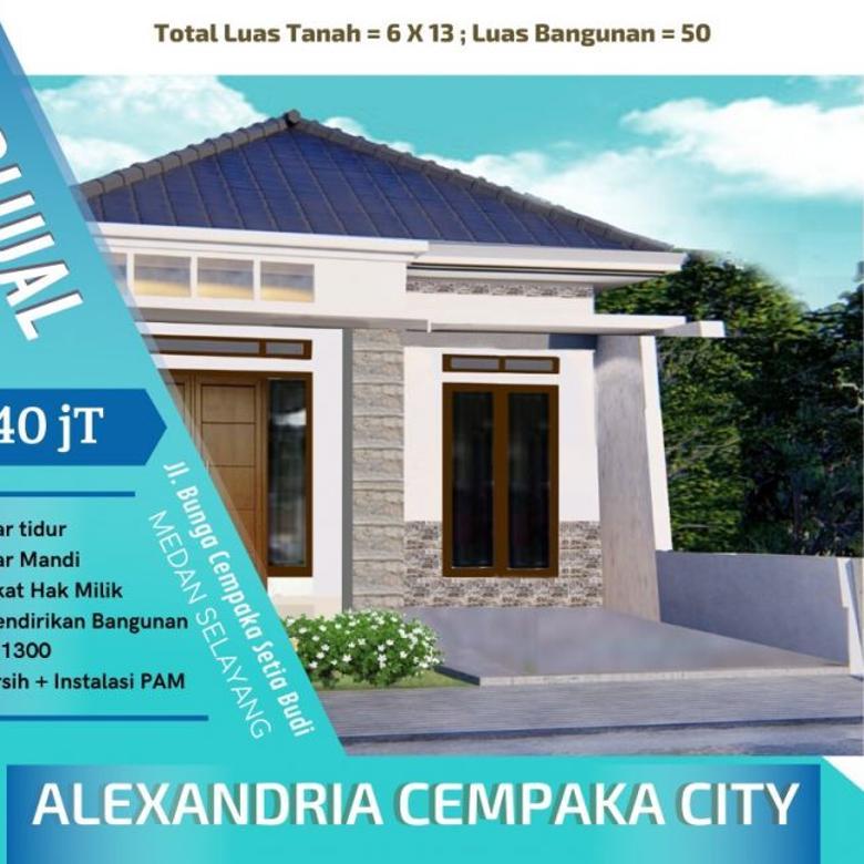 Dijual Rumah Alexandria Cempaka City