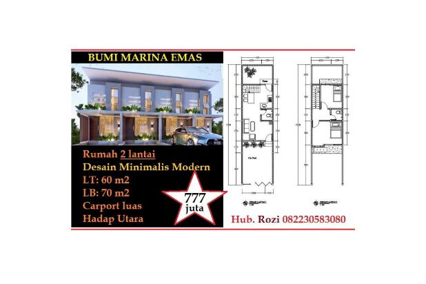 Jual Rumah Baru BUMI MARINA EMAS Sukolilo Keputih Surabaya Dkt ITS Pakuwon 14420097