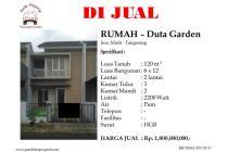 Dijual rumah di Duta Garden, Tangerang.