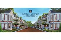 Rumah dijual Boston Village di Gading Serpong Tangerang