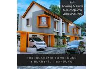 Rumah 2lt Minimalis Modern di Buahbatu,Bebas banjir Bisa KpR